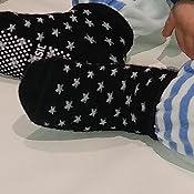 Calcetines antideslizantes para beb/é o ni/ña Heymore calcetines de suelo de alta gama para beb/és de 1 a 3 a/ños con asas ergon/ómicas 6 pares de algod/ón multicolor transpirables