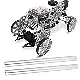 Tubo redondo, 2 piezas/paquete de precisión 6061 Tubo redondo de aluminio Robot industrial Piezas 220 x 15.7 x 14.3 mm