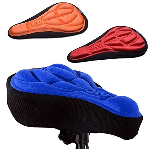 Copertura di sede Morbida del Cuscino del Rilievo della Sella di 3D per la Bicicletta della Mountain Bike Sellini per Biciclette da Strada