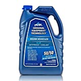 PEAK OET Extended Life Blue 50/50 Prediluted Antifreeze/Coolant for Asian Vehicles, 1 Gal.