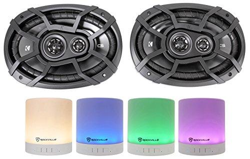 2 KICKER 43CSC6934 6x9 900w 4-Ohm 3-Way Car Audio Speakers CSC693+Free Speaker