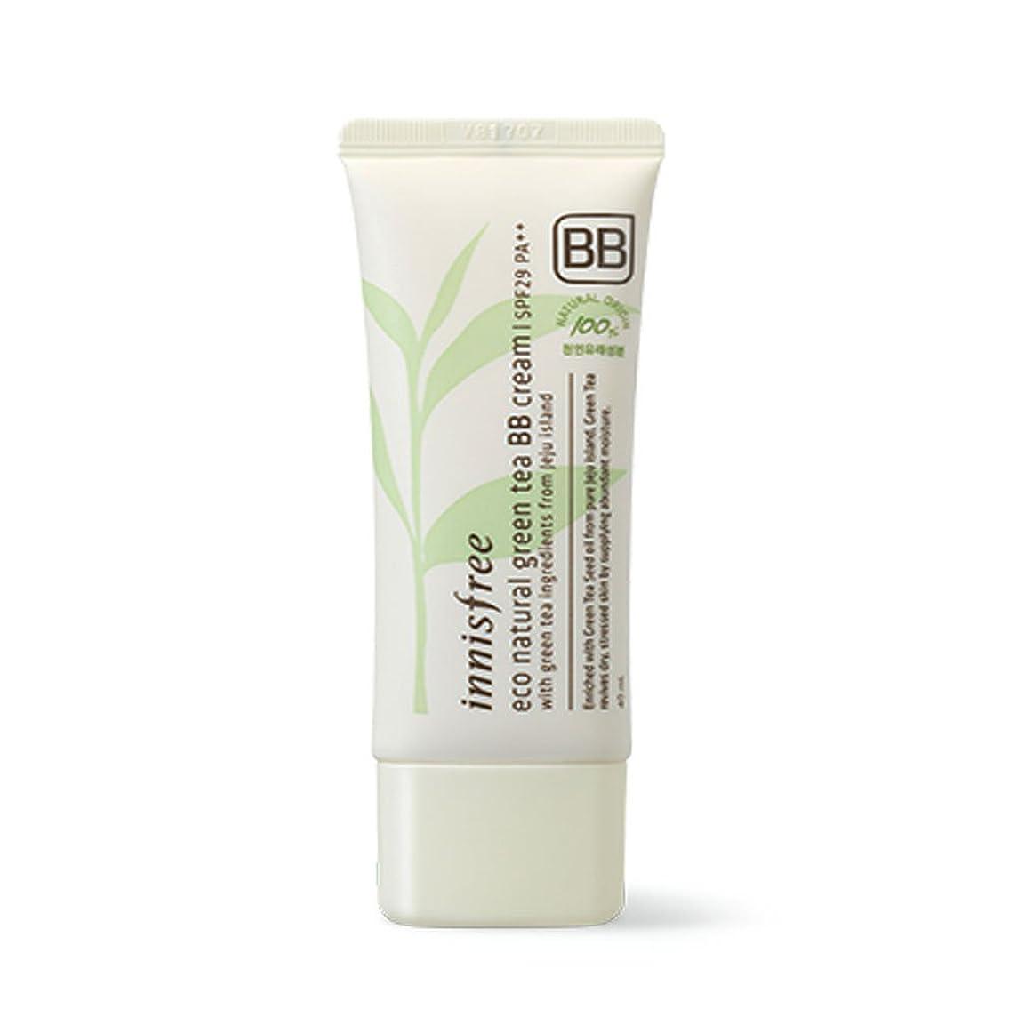 テーブルプットクライアントイニスフリーエコナチュラルグリーンティーBBクリームSPF29 PA ++ Innisfree Eco Natural Green Tea BB Cream SPF29 PA++[海外直送品][並行輸入品] (#2. Natural moist skin)