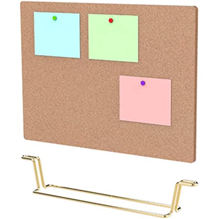 1pc 6-sidedk Cork Board Self-adhesive Diy Notice Board Multifunctional Application Message Board for Photo Hanging Home Decoration Office Bulletin Boards