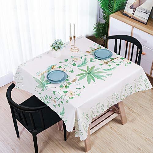 langchao doek tafelkleed waterdicht anti-scald en olievrije wegwerp Scandinavische salontafel placemat vierkante huishoudelijke pvc vierkante tafelkleed
