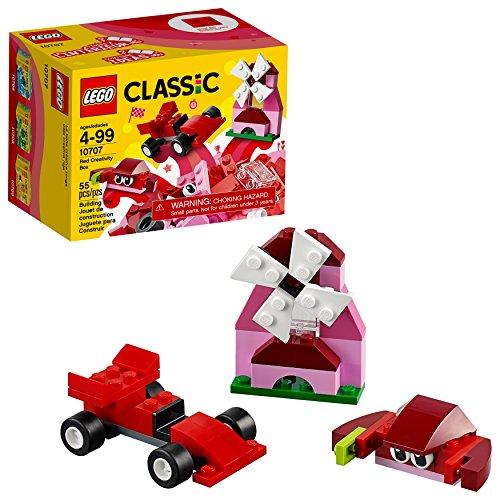 LEGO Classic Red Creativity Box 10707 Building Kit