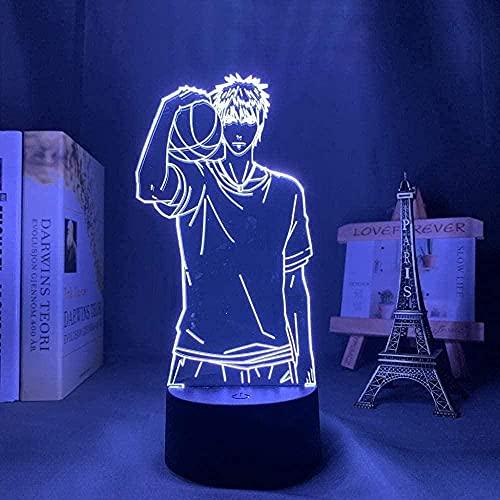XIENIUNIU - Luz de ilusión 3D, luz nocturna LED, lámpara de mesa decorativa con 16 cambios de color, juguete acrílico para niños, día de San Valentín, Navidad, regalo de cumpleaños