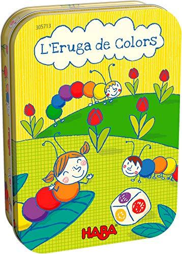 HABA 305713 - L' Eruga de Colors, JOC de daus, a Partir de 3 anys