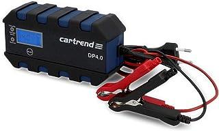Cartrend 10620 ładowarka mikroprocesorowa do akumulatora samochodowego DP 4.0, 4 ampery do 6/12 V, 9-HF, funkcja automatyc...