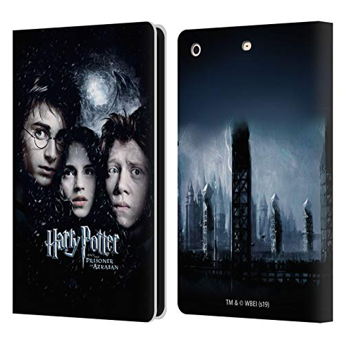Oficial Harry Potter Ron, Harry & Hermione Poster 3 Prisoner of Azkaban IV Carcasa de Cuero Tipo Libro Compatible con Apple iPad Mini 1 / Mini 2 / Mini 3