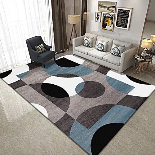 bases antideslizantes para alfombras Alfombra de diseño de patrón de círculo y...