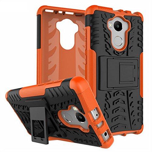 Funda Xiaomi Redmi 4 Pro Cubierta A Prueba De Golpes TPU PC Teléfono Soporte Resistente Protección Dual Contraportada 5.0 pulgadas