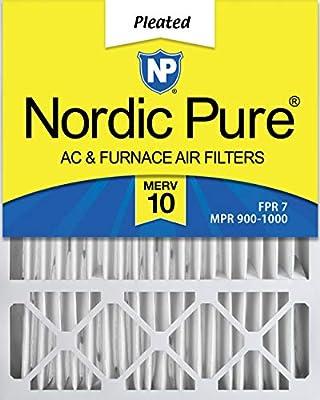 Nordic Pure 20x25x5HM13-1 20x25x5, MERV 13, Honeywell Replacement Air Filter