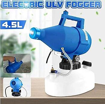 YLEI Brume électrique Ultra Low Volume Sprayer ULV Stérilisateur à air épidémie aérosol 1400 W pour Les magasins Scolaires Bureau Maison 4.5L nébulisateur