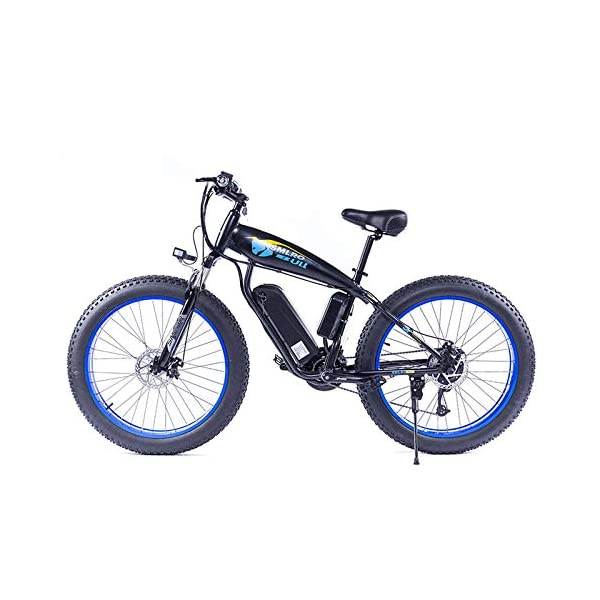 51SVoK7Ch L. SS600  - JASSXIN Moutainbike Electric Mountain Bike, 48V-Lithium-Batterie, High-Speed-Motor, Thick Reifen, Elektrisches Fahrrad, Thick Ebike, Max 70Km / H