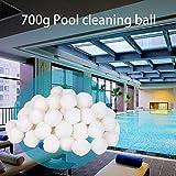 SOWLFE 700g Swimmingpool-Reinigungs-Faser-Ball-Pool-Reinigungs-Bälle beleuchten...
