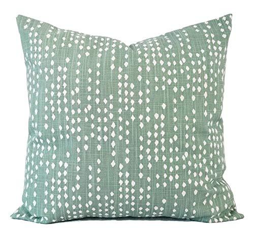 Ad4ssdu4 - Federa per cuscino decorativo, colore: Verde salvia