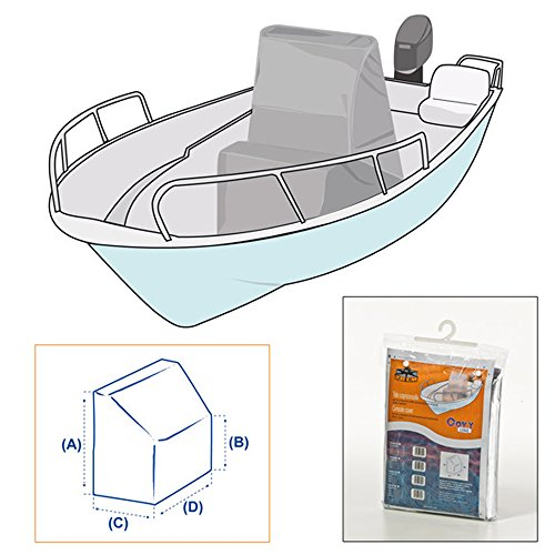Lona Cubre Consola Para Barco Náutico XL 140x100x90x90 Covy Line Cover Boat