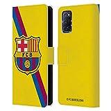 Head Case Designs Licenciado Oficialmente FC Barcelona Segunda equipación 2019/20 Crest Kit Carcasa de Cuero Tipo Libro Compatible con OPPO A72