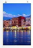 Eau Zone Home Bild - Landschaft Natur – Hafen auf Kreta