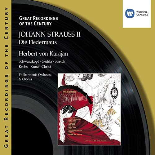 Soloists/Philharmonia Orchestra/Herbert Von Karajan & Johann Strauss II