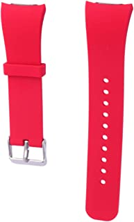 NICERIO Compatible with Samsung Gear Fit 2 R360 Fit 2 Pro R365 Silicone Watch Strap - Soft Smart Watch Band Replacement So...