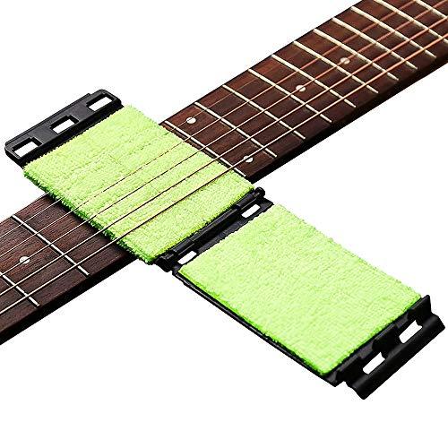 DELSEN Saiten-Gitarre Reiniger Griffbrett Reiniger Gitarren Pflege Werkzeug für Gitarre/Bass/Mandoline/Ukulele