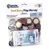 Learning Resources- Paquete con Dinero del Reino Unido, Color (LSP2629-MUK) , color/modelo surtido