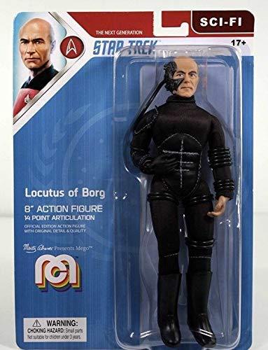 Mego Star Trek The Next Generation Locutus of Borg 8' Action Figure