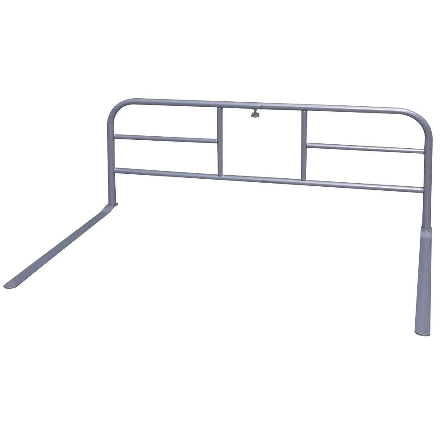 意味のある切断する欠如アイリスオーヤマ ベッドガード 伸縮 幅80.5~106cm シルバー BDG-8010