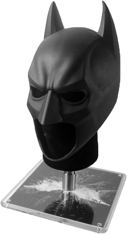 muchas sorpresas QWEASZER Liga de la Justicia Dark Knight Knight Knight Batman 1  1 másCochea Casco COS Head Casco MásCochea Halloween Pascua Navidad MasCocheada Fiestas Wearable CosJugar Prop Serie,negro-<57cm  garantizado