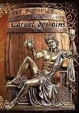 Carnet des vins: N'ayez plus à envier les belles caves, grâce à ce Carnet des vins vous pourrez  gérer au cordeau son agencement avec ces 12 critères ... de garde, Apogée etc... 100 pages 18 x 25 cm