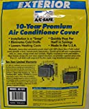 AC Safe Exterior Cover for Medium Window Air Conditioners, Neutral