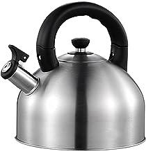 Leyeet Czajnik do herbaty, słyszalny gwizdek czajniczek ze stali nierdzewnej dzbanek z gwizdkiem 3 l odpowiedni do wszystk...