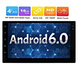 7 pollici 2 DIN universal Android 4.4 stereo autoradio HD schermo multi-touch di GPS...