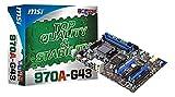MSI 970A-G43 Mainboard Sockel AM3+ (ATX, AMD 970, DDR3 Speicher, 6x SATA III, 2x USB 3.0)