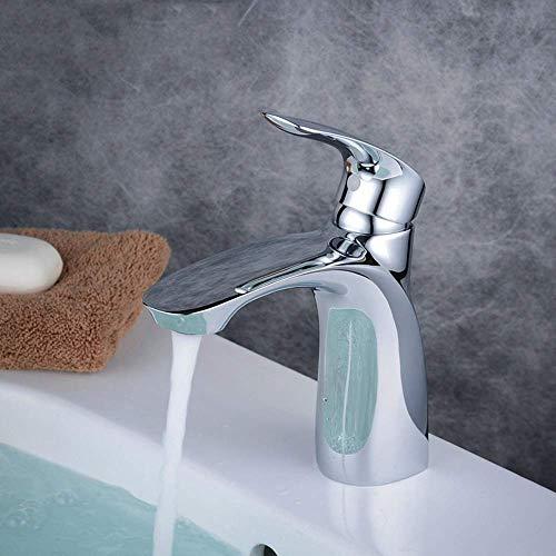 ZJN-JN Grifería de Lavabo Mezclador del lavabo del grifo del lavabo del grifo fría mezcla Hotel TAP completa de cobre Lavabo principal de suministro de agua grifos de baño grifos de baño Accesorios pa