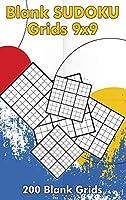 Blank Sudoku Grids 9x9, 200 Blank Grids: Blank Sudoku Book, Blank Puzzles