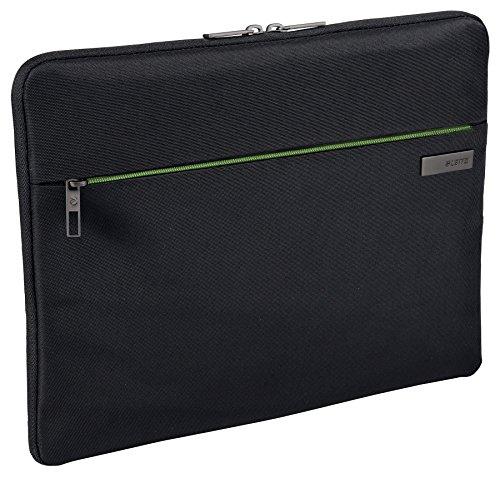 Leitz, Universale Schutzhülle für 15.6 Zoll Laptop, Ultrabook oder Mobilgeräte, Polyester, Complete, Schwarz, 62240095