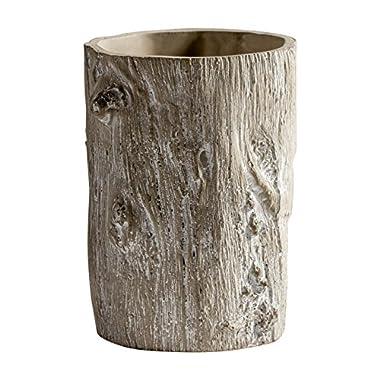 Torre & Tagus 902380 Alder Bark Vase
