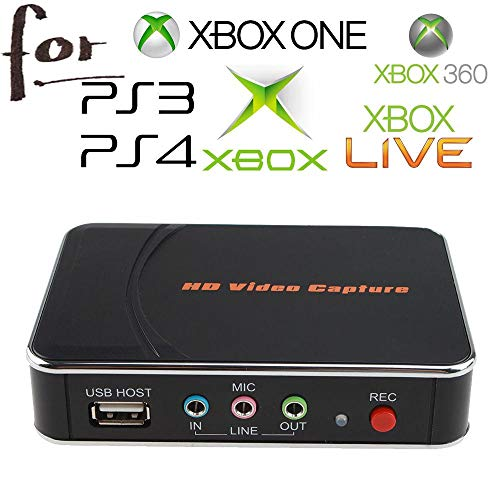 HD Game Video Capture 1080P for Xbox one ps4 1080P HDMI YPBPR Recorder for Xbox One/360 PS3 /PS4