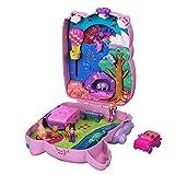 Polly Pocket Coffret Sac à Surprises Koala, mini-figurines Polly, une amie, 5 animaux et une voiture, accessoires inclus, jouet pour enfant, GXC95