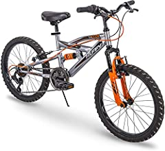 This Quick Connect kids bike makes assembly fast and easy - follow these simple steps to get riding in just minutes; insert fork and handlebar - fold pedals down until they click in place - insert seat and adjust Huffy's Valcon is ideal for ages 5-9 ...