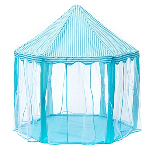Tiendas de Niños Tienda De Campaña para Niños, Castillo De Juegos Privado para Niños En El Interior, Material De Malla para Una Fácil Observación del Bebé, Niños, 120x135cm