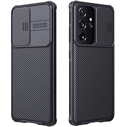 CloudVally Cover per Samsung Galaxy S21 Ultra con copertura della fotocamera, Full-Body protettivo e Sottile , Custodia di Protezione Della Fotocamera Solo Per Samsung Galaxy S21 Ultra 5G 6,8''