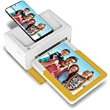 "Kodak Dock Plus Portable Instant Photo Printer, Compatible with iOS, Android and Bluetooth DevicesFull Color Real Photo (4""x6""), 4Pass & Lamination Process, Premium Quality - Convenient and Practical"