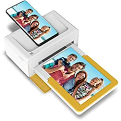 PRINT YOUR MEMORIES: With the Kodak Dock Plus, you can print your favorite pics instantly from your mobile devices! Using a reliable and stable Bluetooth connection, this instant photo printer can help you save timeless memories. STELLAR PHOTO QUALIT...