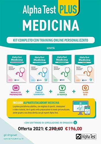 Alpha Test plus. Medicina. Kit completo di preparazione con training online personalizzato. Con software di simulazione (TestUniversitari)