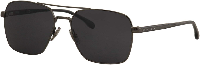 Sunglasses Boss (hub) 1045 /S 0V81 Dark Ruthenium Black/Ir Gray Blue