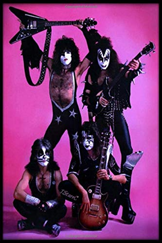 Kiss Rock Band Daily Routine Journal