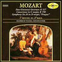 Mozart: Symphony No.38 in D Major, K.504 Prague; Concertone in C Major, K.190; Don Giovanni Overture, K.527